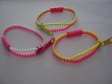 Bracelets fantaisie zip fermeture éclair ( lot de 3 bracelets) **** +2 en CADEAU