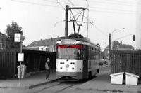 PHOTO  1997 BELGIUM GENT TRAM WONDELGEM TRAM NO 06 ON ROUTE NO 10