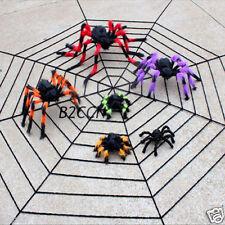 New Plastic Black Spider Halloween Decoration Realisti House Prop Indoor Outdoor