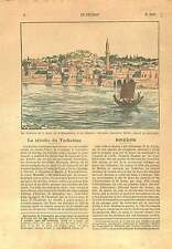 Panorama Birtha Birecik/Biredjik Turkey Syria Mesopotamia 1925 ILLUSTRATION
