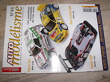 µµ Auto Modelisme n°44 Pajero Evo Panoz LMP Seat Cordoba WRC Break Edsel Bermuda