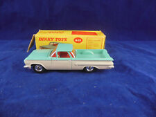 Stunning Dinky toys 449 Chevrolet 'El Camino' Pick Up Truck Turquoise over White