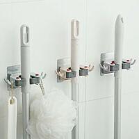 Wall Mount Mop Broom Hanger Brush Rack Holder Clip Storage Tool Home Removable