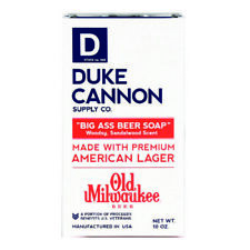Duke Cannon  Old Milwaukee Beer  Beer Soap Scent Bar Soap  10 oz.