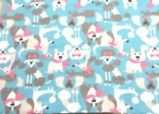 Poodles Dachshunds Terriers Dog Blanket Can Personalize Double Sided 28x22