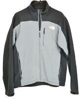 The North Face Men's Size Medium Black Gray Colorblock Full Zip Jacket