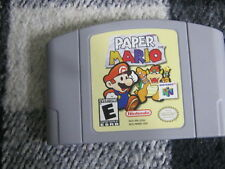PAPER MARIO NINTENDO 64 2001 RPG  GAME CART ONLY FAST SHIPPING>>>>