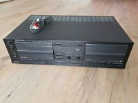Kenwood stereo double cassette deck KX-77CW auto reverse vintage