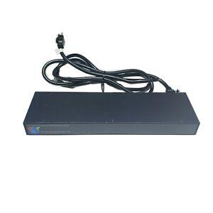Server Tech Technology C-10H1-C20M Metered PDU 1U 120V 10x 5-20R Outlets 5-20P