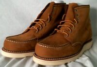 """Red Wing 3372 6"""" Classic Moc Women's Short Boot Honey Chinook Leather Size 9.5"""