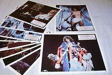 LISZTOMANIA  ! Ken Russell  Roger Daltrey jeu 10 photos cinema lobby cards 1975