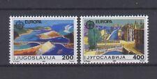 YUGOSLAVIA, EUROPA CEPT 1987, MODERN ARCHITECTURE, MNH