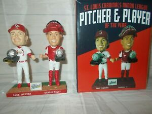Springfield St Louis Cardinals Luke Weaver & Carson Kelly bobblehead SGA NIB