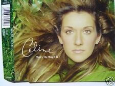 CELINE DION THAT'S THE WAY IT IS MAXI CD