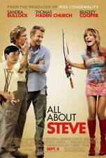 ALL ABOUT STEVE-reg DS orig movie poster SANDRA BULLOCK