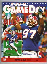 11/16/92 Dolphins Vs Bills Program - THURMAN THOMAS