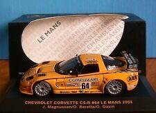 CHEVROLET CORVETTE C5R #64 LE MANS 2004 MAGNUSSEN BERETTA GAVIN IXO LMM064 1/43