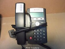 Polycom Soundpoint IP 321 VoIP Phone Telephone 2201-12360-001 INCL HANDSET & PSU