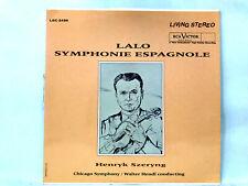 LP Lalo Symphonie Espagnole RCA Red Seal LSC-2456