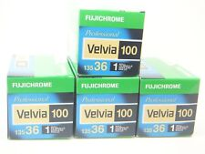 4 x FUJICHROME VELVIA 100 35mm 36 EXP CHEAP SLIDE FILM by 1st CLASS ROYAL MAIL