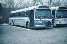 Mount Kisco GM New Look bus Kodachrome original Kodak slide
