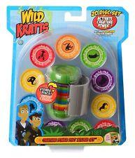 NWT PBS KIDS Wild Kratts CHRIS Creature Power Disc Green Holder SET 20 discs
