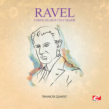 Ravel - String Quartet in F Major [New CD] Extended Play, Manufactured On Demand