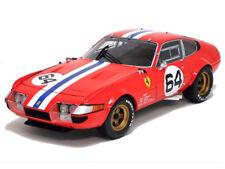 1:18 Kyosho 08163a - Ferrari 365 Gtb/4 Competición #64 Paul Newman Rareza