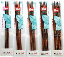 Prym 5 Strumpfstricknadeln Nadelspiel Natural Holz 15 cm 2,0-4,0 mm Stricknadel