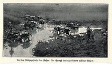 1915 Fall der Festungen Roshan und Pultusk * Eroberte Schützengräben * WW1