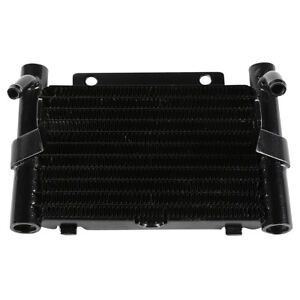 Black Fan Assisted Oil Cooler Fit For Harley Touring Road Street Glide 17-21 18