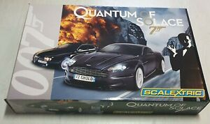 Scalextric 1:32 Rennbahn * Slotcars * Bond 007 - Quantum of Solace * NEU * OVP