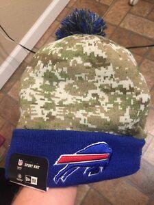"Buffalo Bills New Era ""NFL 2015 Salute to Service Knit"" Sideline Beanie Rare"