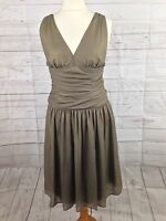 Women's Hugo Boss Silk Dress - Size Uk12- Great Condition