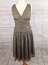 Women's Hugo Boss Silk Dress - Size Uk12- Great Condition