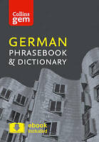 Collins German Phrasebook and Dictionary Gem Edition. Essential Phrases and Word