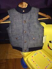 Tough Skins Boys Denim Vest Size 24 Months Sears
