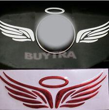 Hot Red 3D Angel Fairy Wing Car Truck Logo Emblem Badge Decal Sticker WKAU