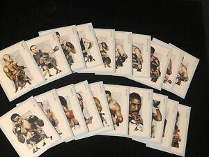 NEW Victoria Gallery 20 Card Boxing Champions Set - Ali Tyson Marciano Dempsey