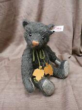 Steiff AUTUMN Teddy Bear Exclusive to UK & Ireland Green 664212 LE 419/1500 NIB