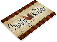 TIN SIGN Country Kitchen Metal Décor Prayer Kitchen Barn Cottage Store A312