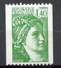 STAMP / TIMBRE FRANCE NEUF N° 2157 ** TYPE SABINE ROULETTE