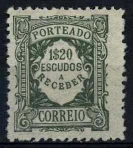 Portugal 1921-7 SG#D594, 1E20 Postage Due MH #E79195