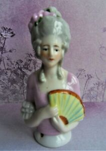 Pin cushion half doll beautiful example excellent condition