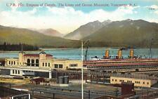 Photo. ca 1926. Vancouver, Canada. Canadian Pacific Steamship terminal