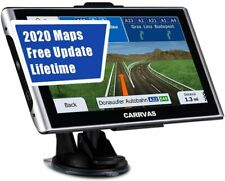 """GPS Navigation for Car, Truck, 7"""" Lifetime Free Map Update Voice Turn Direction"""