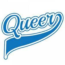 Gay Pride Bumper Sticker Queer