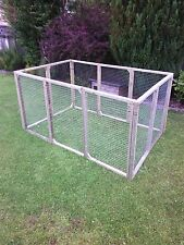 12 aviary panels for chicken run kennel ducklings rabbits guinea cat dog -pets
