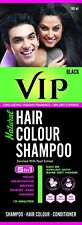 VIP Hair Color Shampoo Health & Beauty Hair Care Color Natural 180 ml