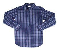 Columbia Mens Shirt Blue Size Small S Plaid Print Pocket Button Up $50 #132